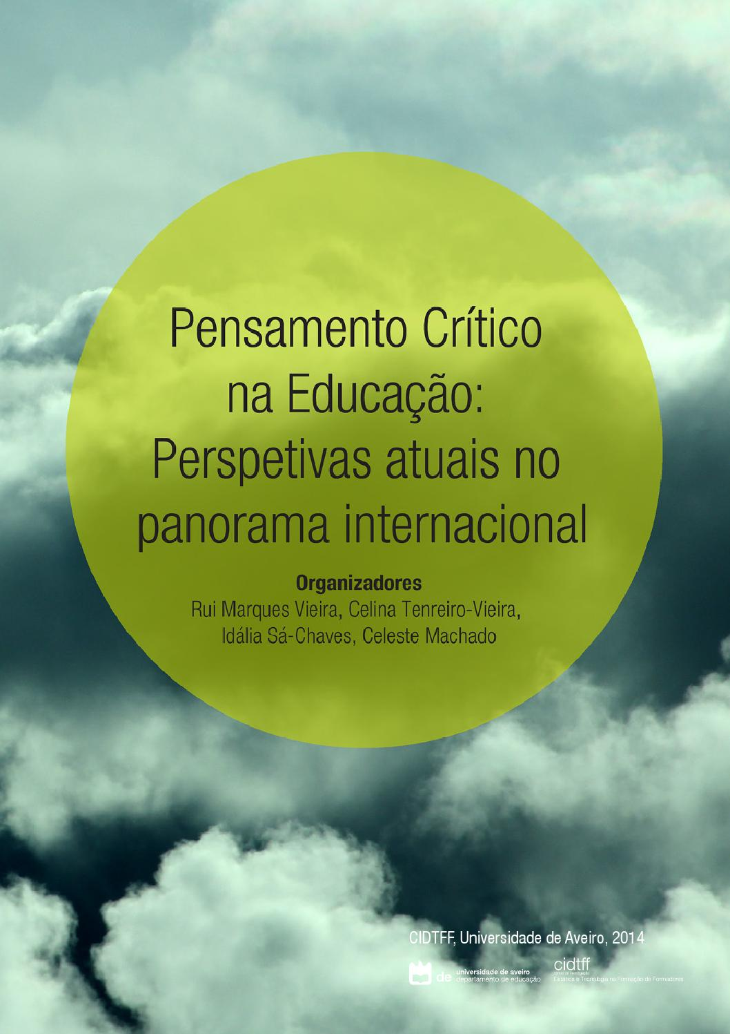 Pensamento Crítico 2013 By Rede Pensamento Crítico Issuu