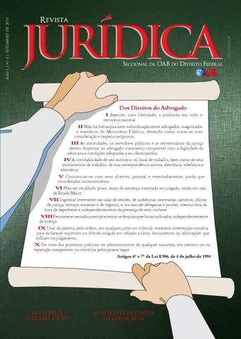 Revistajuridica04 oab df by Ordem dos Advogados do Brasil – Seção do ... b45f1794d1