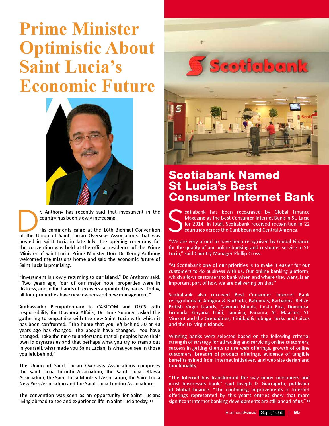 St  Lucia Business Focus 77 by AMS St  Lucia - issuu