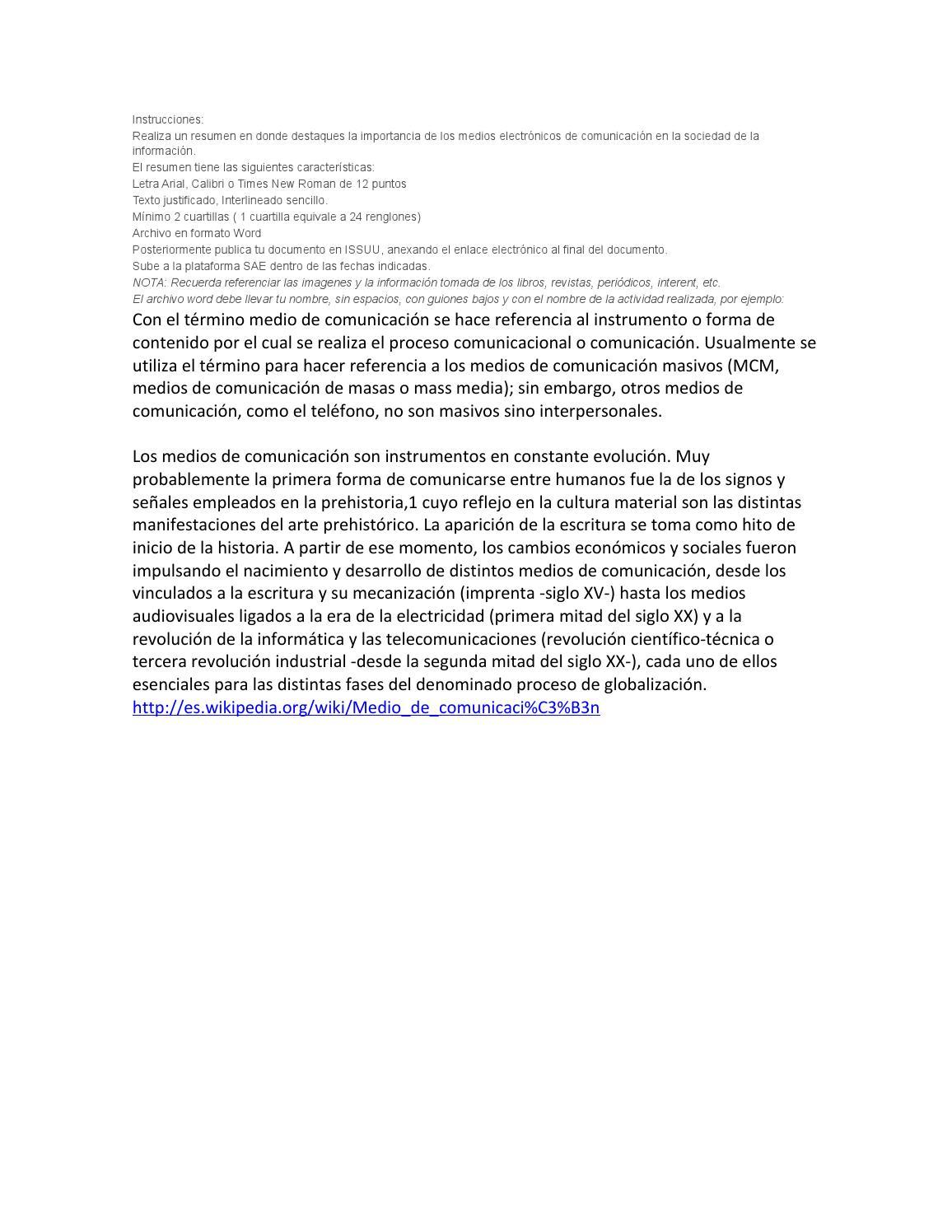 Resumen informatica gustavo lopez 4 sep14 by Gus Martinez - issuu