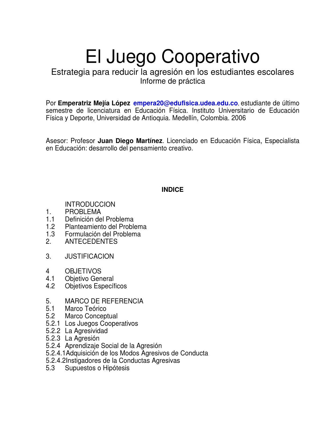 07 el juego cooperativo by SOL CARRILLO - issuu