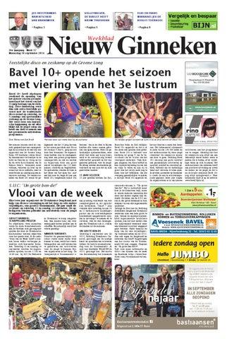 bd5936d120d2a7 Weekblad Nieuw Ginneken 10-09-2014 by Uitgeverij Em de Jong - issuu