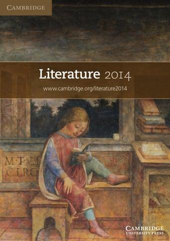 Literature 2014 By Cambridge India Issuu