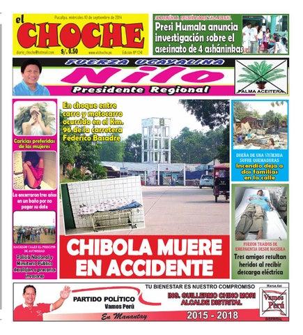 3e97600948c El choche 10 de septiembre de 2014 by Diario El Choche - issuu