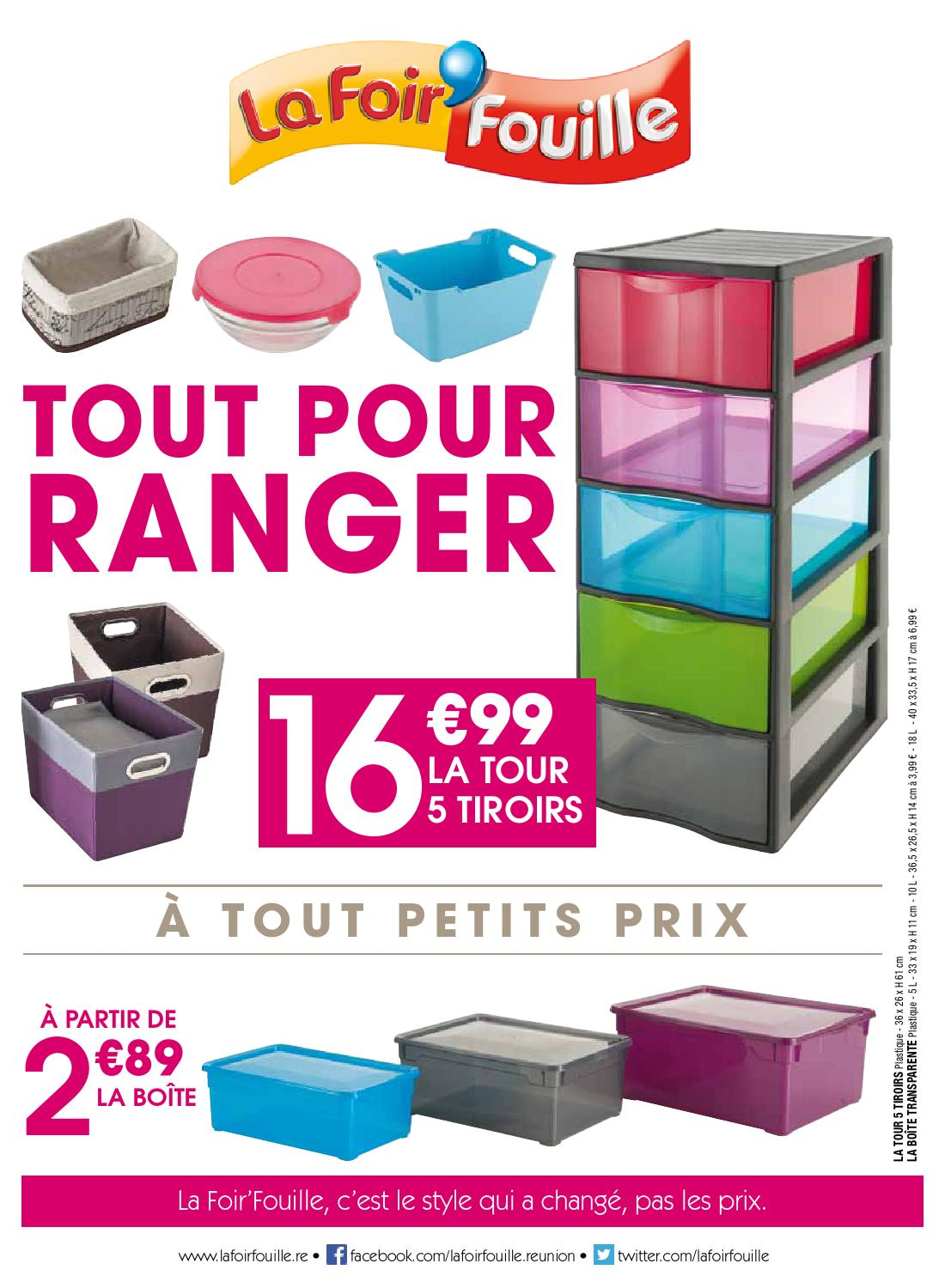 catalogue la foir 39 fouille tout pour ranger by le s same. Black Bedroom Furniture Sets. Home Design Ideas