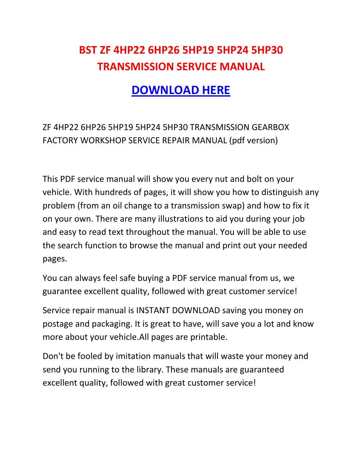Array - zf 5hp30 repair manual download  rh   nomacdtp ml
