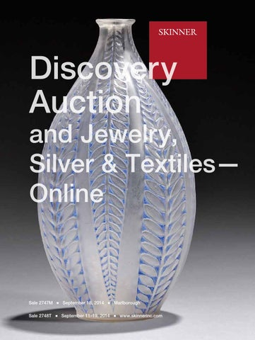 Discovery Auction and Jewelry, Silver & Textiles-Online ...