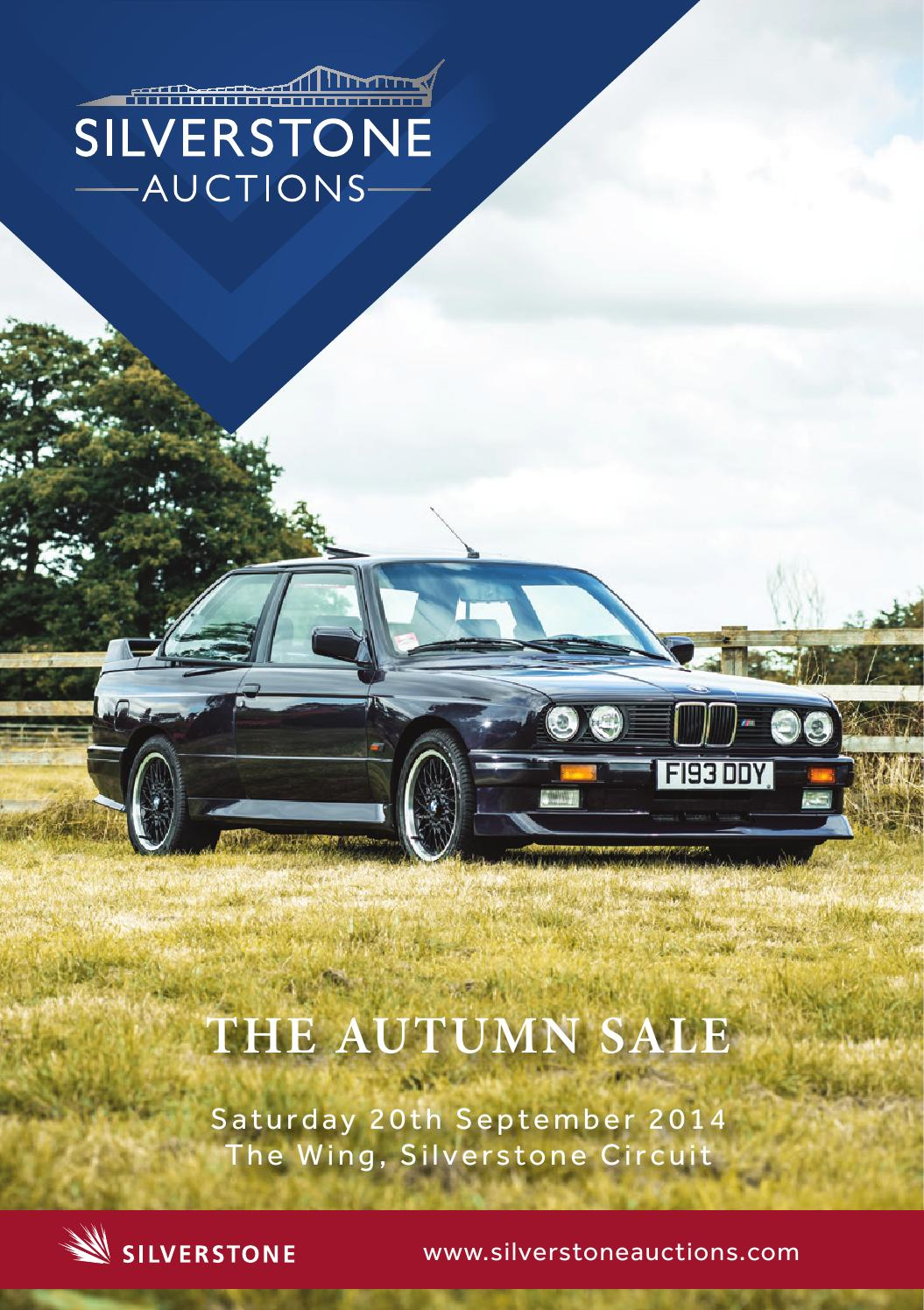 Silverstone Auctions Autumn 2014 By Charlotte Wright 1984 Pininfarina Wiring Diagram Issuu