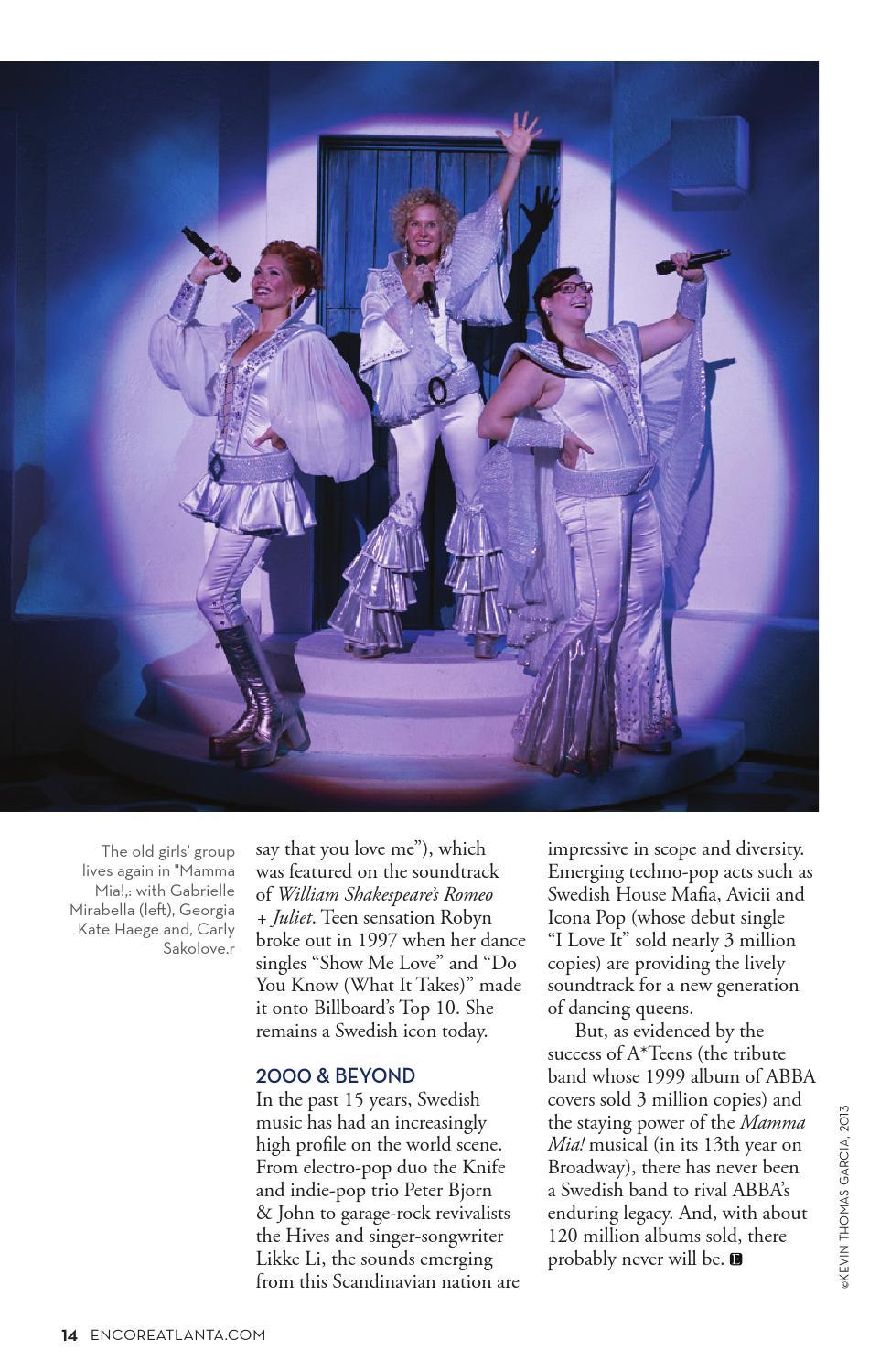 September 2014: Mamma Mia! at the Fox Theatre