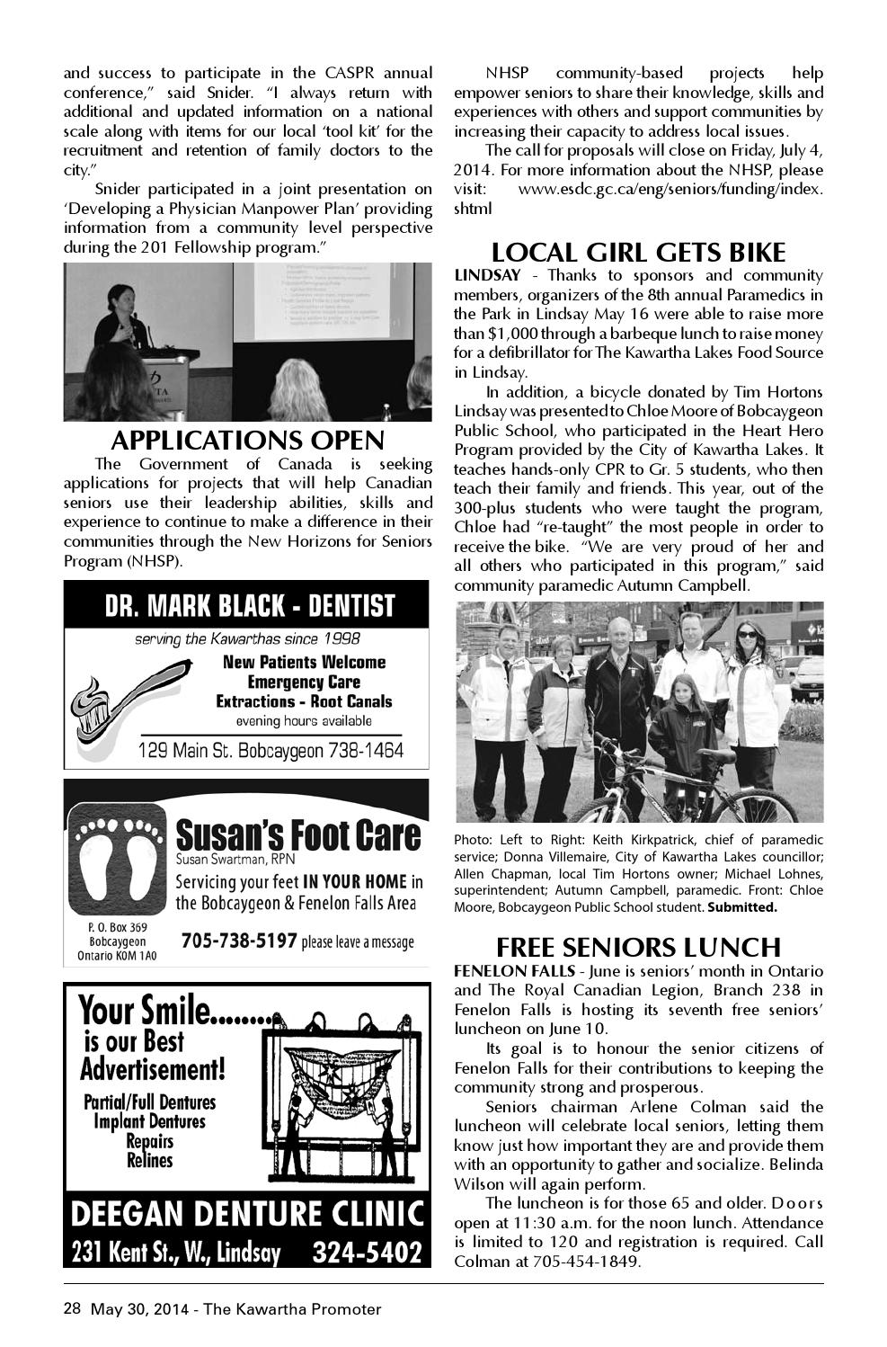 The Kawartha Promoter May 30 2014 by Max Miller - issuu