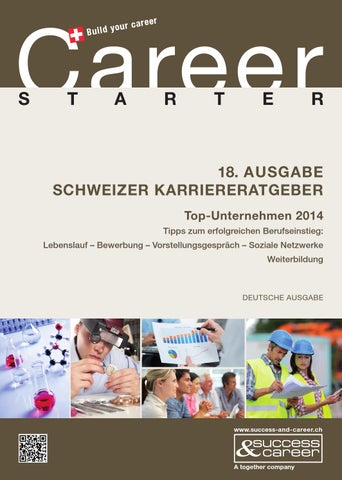 Career Starter 2014 by together ag - issuu