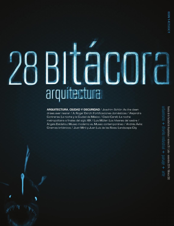 Bitácora 28 by Editorial Facultad de Arquitectura - issuu