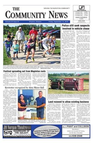 Drayton Community News September 12 2014 By Wha Publications Ltd