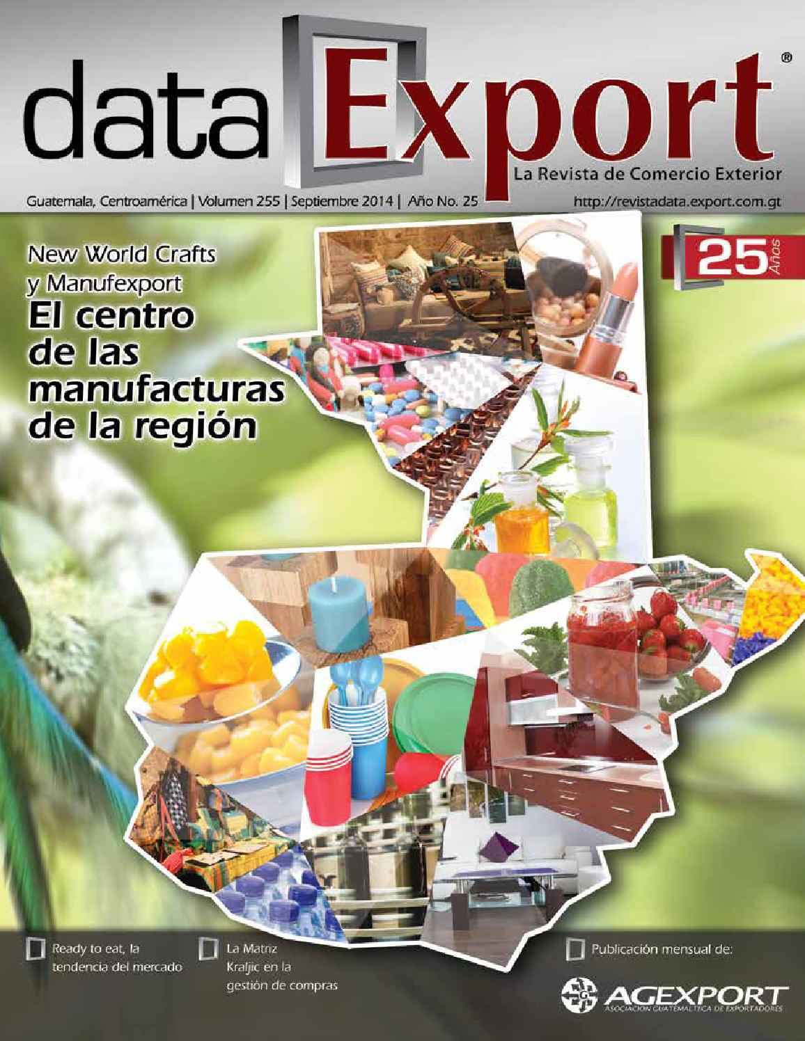 Data Export- Septiembre by Agexport Guatemala - issuu 44c0753f4290