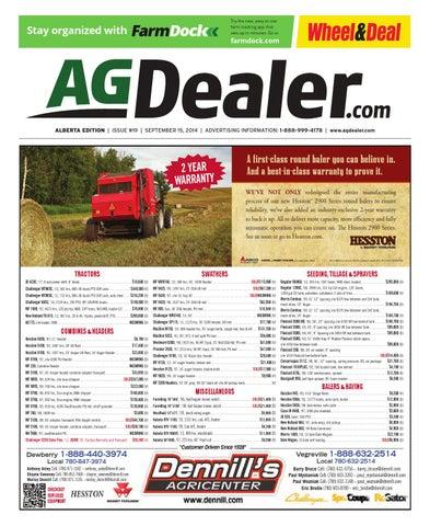 Wheel Amp Deal Alberta September 15 2014 By Farm