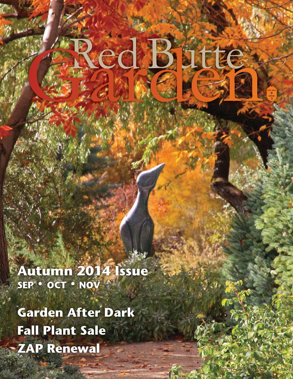 Red Butte Garden Fall 2014 Newsletter by Red Butte Garden - issuu