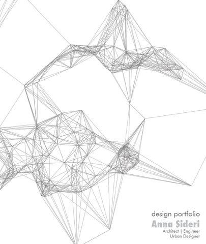 Architectural Portfolio By Anna Sideri