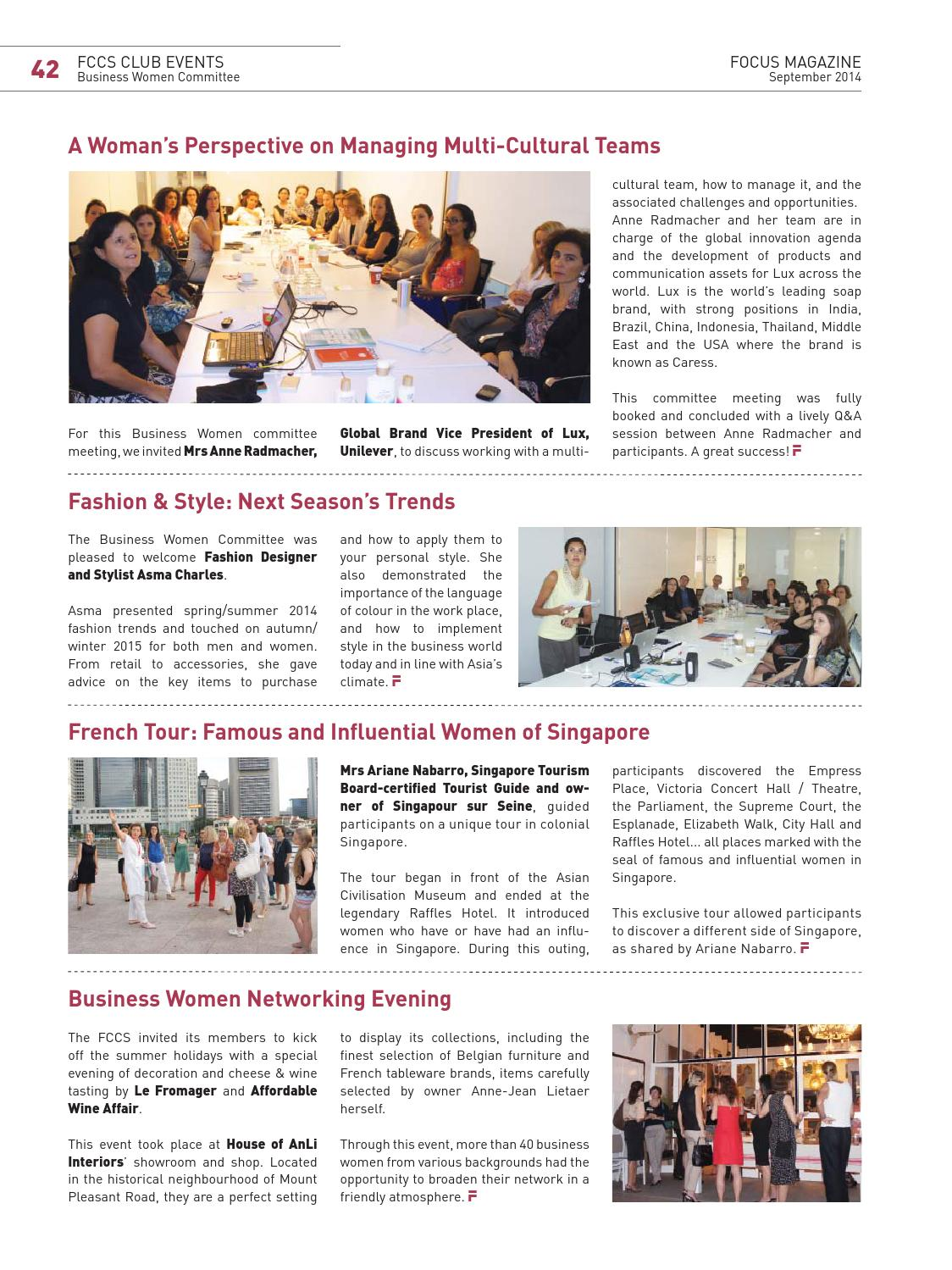 Fccs Focus September 2014 A Future Tide To The Sea By The French