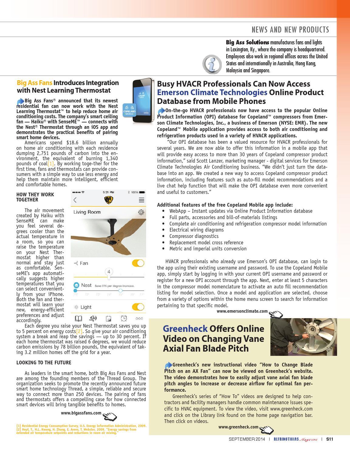 Refrinoticias Al Aire Mxico Usa Latinoamrica 09 2014 By Buro Electrical Wiring Diagrams For Smart Homes De Mercadotecnia Del Centro Sa Issuu