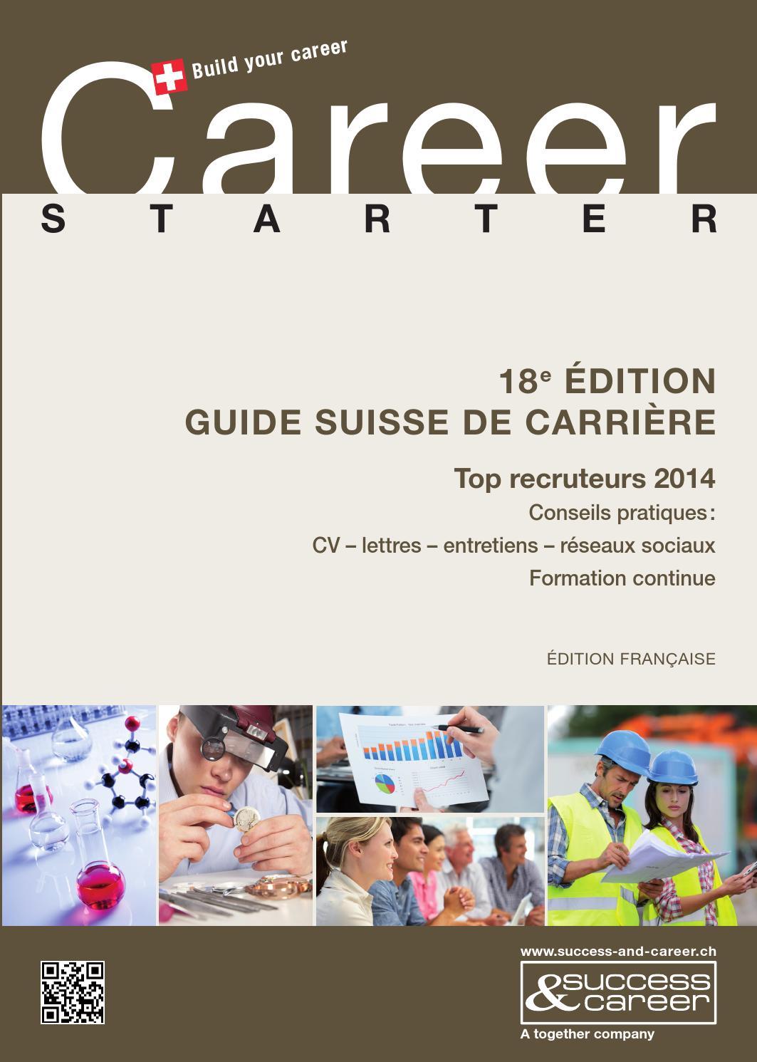 Career Starter 2014 Französisch By Together Ag Issuu