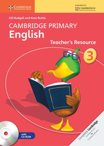 Cambridge Primary English Teacher S Resource 3 By Cambridge University Press Education Issuu