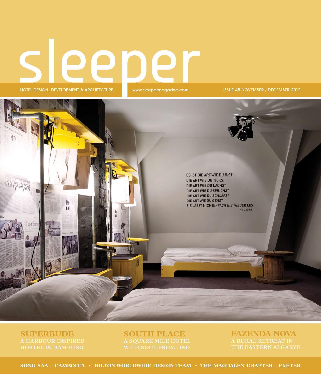 Sleeper 45 November December 2012 By Mondiale Media Issuu