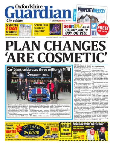 foto de 11 september 2014 oxfordshire guardian city by Taylor Newspapers ...