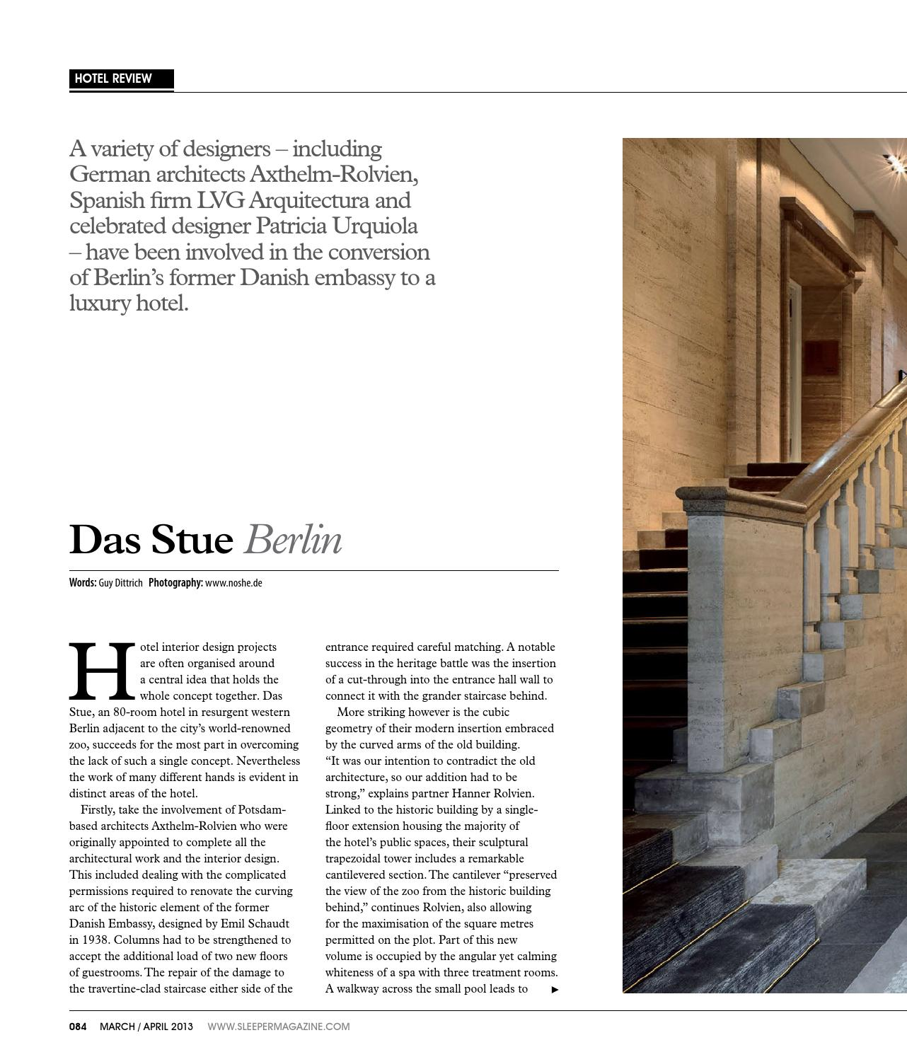 Sleeper 47 March April 2013 By Mondiale Media Issuu