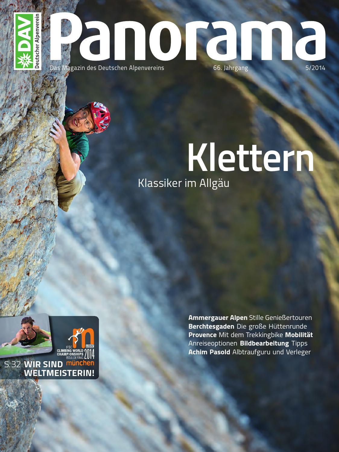 DAV Panorama 5/2014 by Deutscher Alpenverein e.V. - issuu