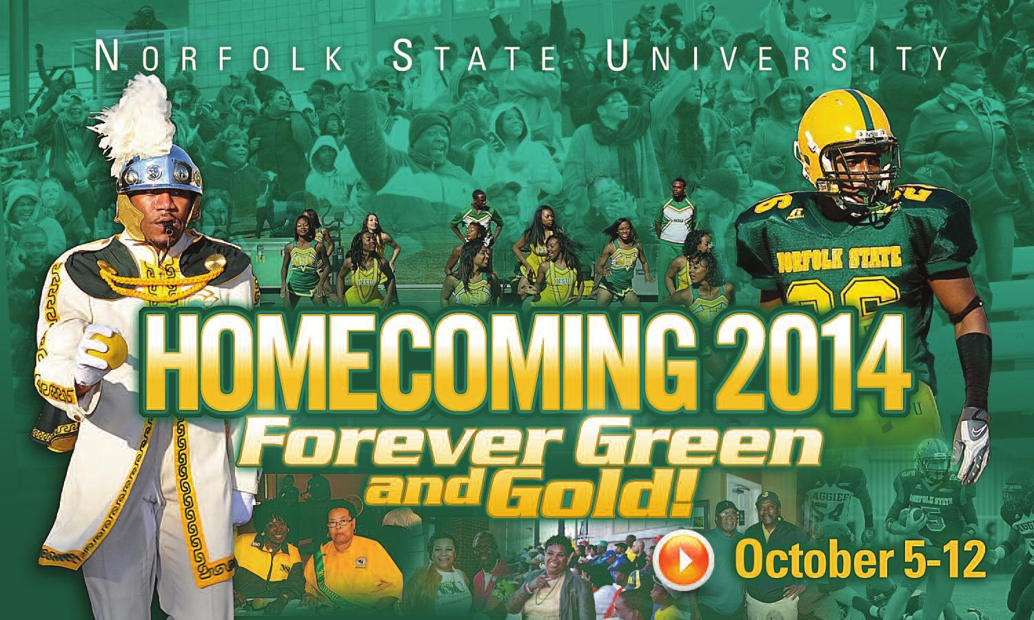 Fourth image of Virginia State University Homecoming Party with Norfolk State University Homecoming 2014 by Norfolk State ...