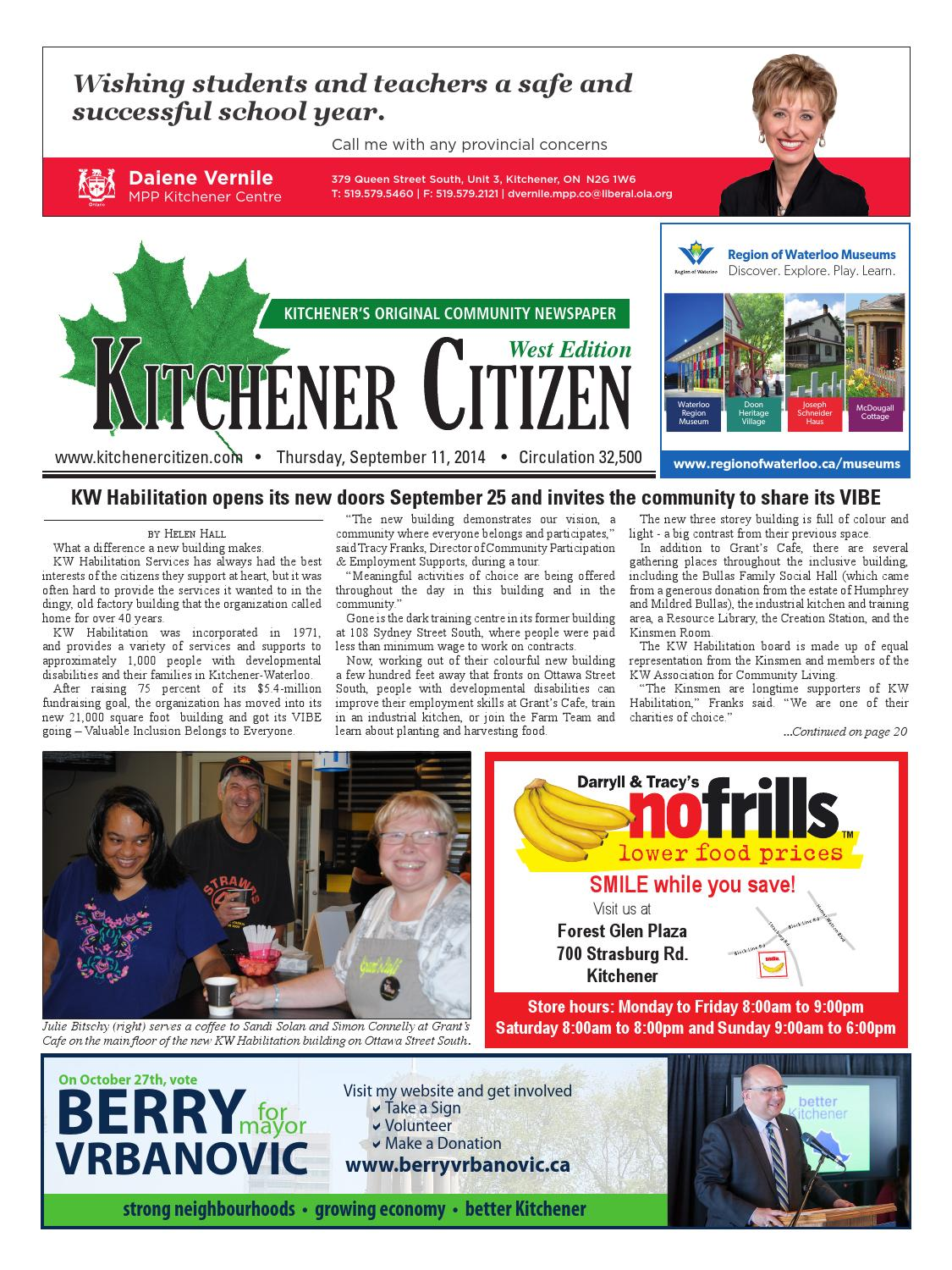 Kitchener Citizen - West Edition - September 2014 by Kitchener ...