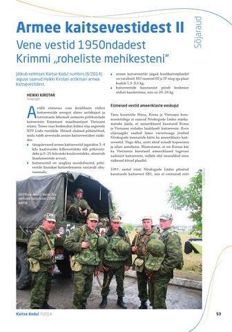 """Page 53 of Armee kaitsevestidest II - Vene vestid 1950ndatest Krimmi """"roheliste mehikesteni"""""""