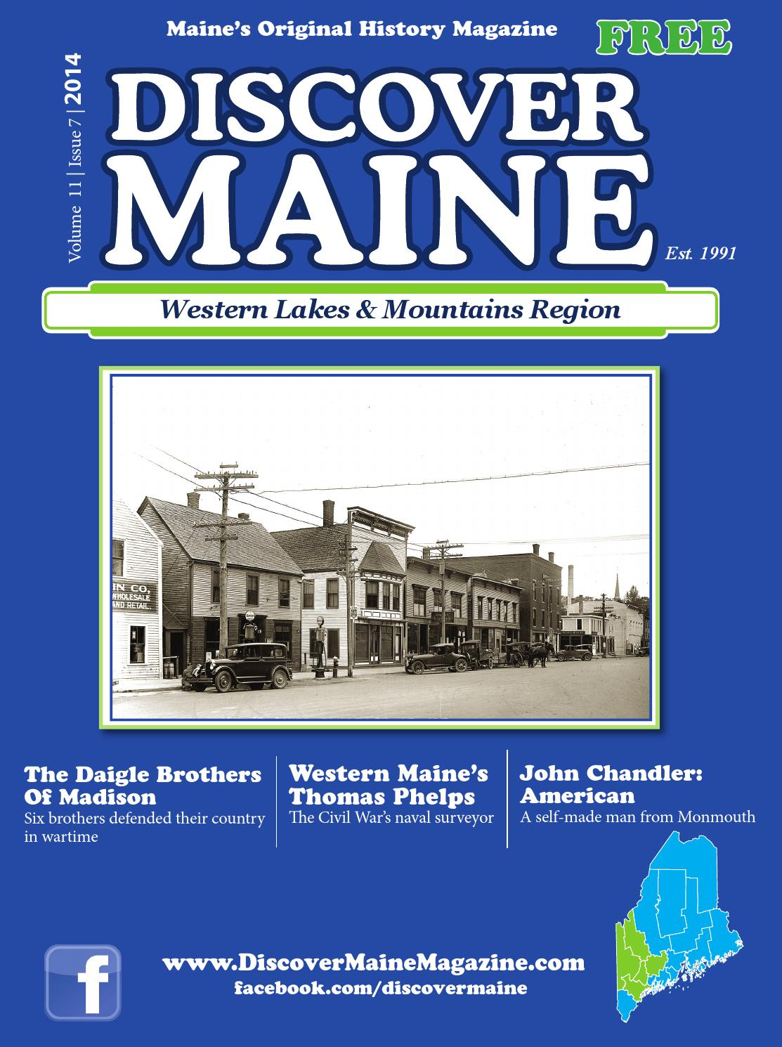 2014 Western Lakes & Mtns Region by Discover Maine Magazine