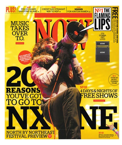 NOW NOW NOW    by NOW Magazine issuu c6a45e