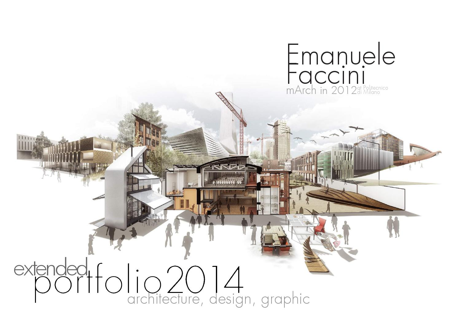 Book Cover Architecture Notes : Portfolio extended version by emanuele faccini issuu