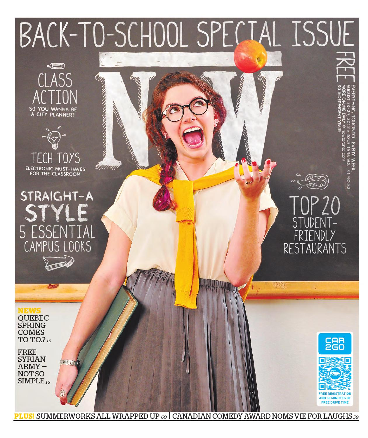 efbf35d94a NOW 2012-08-23 by NOW Magazine - issuu