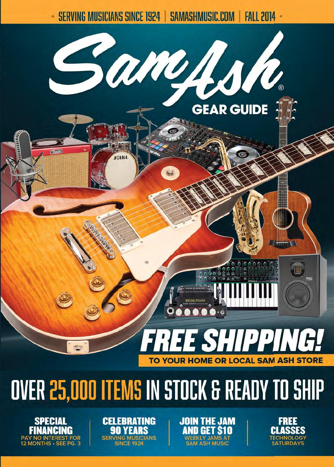 Fall 2014 Sam Ash Music Gear Guide By Corp Issuu Diagrams Further You Need To Enable Javascript On Electric Guitar Hsh