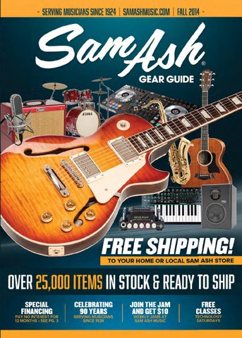 aa77da52d99 Fall 2014 Sam Ash Music Gear Guide by Sam Ash Music Corp. - issuu