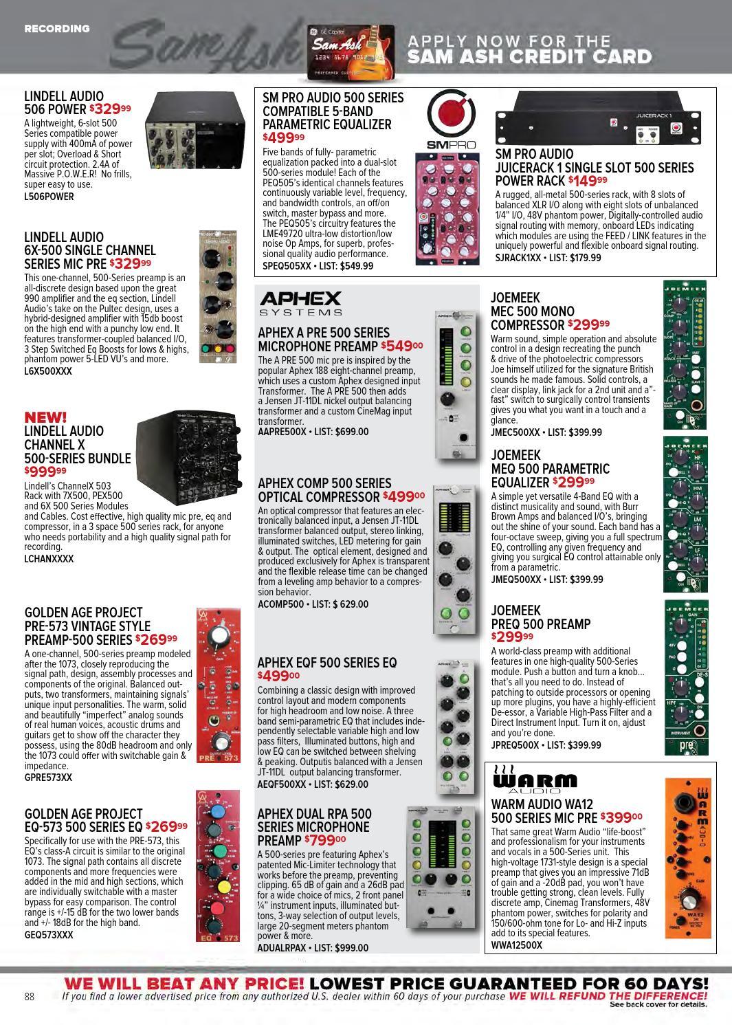 Fall 2014 Sam Ash Music Gear Guide by Sam Ash Music Corp