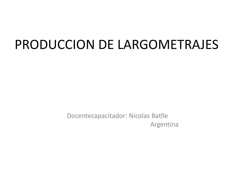 Producción de largometraje by Carpeta de Producción - issuu