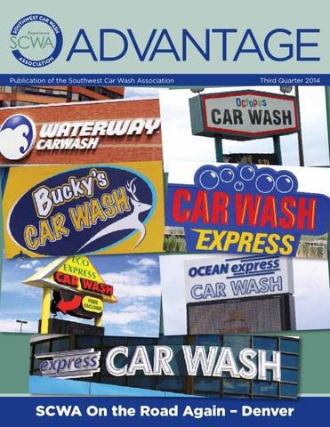 Southwest car wash association advantage magazine by southwest car advantage publication of the southwest car wash association solutioingenieria Choice Image