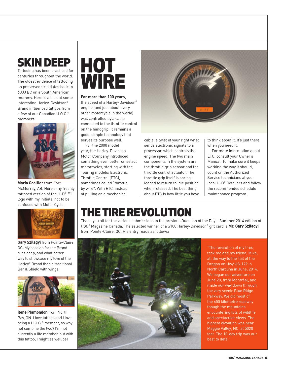 Harley-Davidson – HOG Canada Magazine by Fresh Air