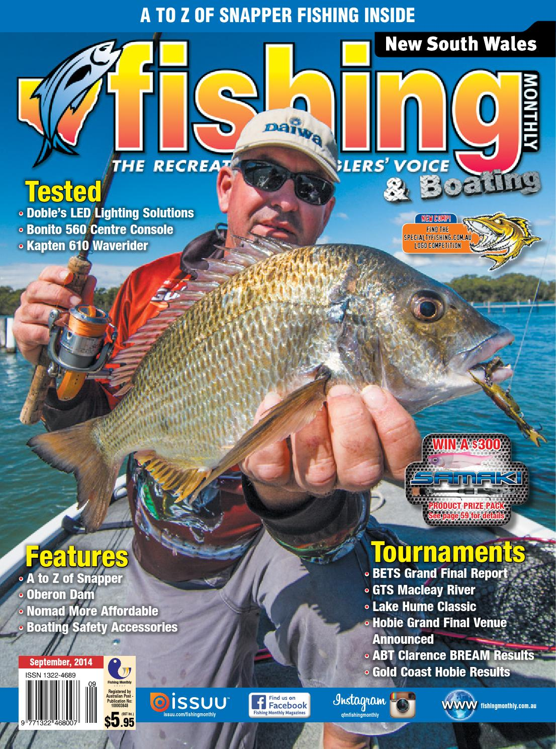 3344951762 New South Wales Fishing Monthly - September 2014 by Fishing Monthly - issuu