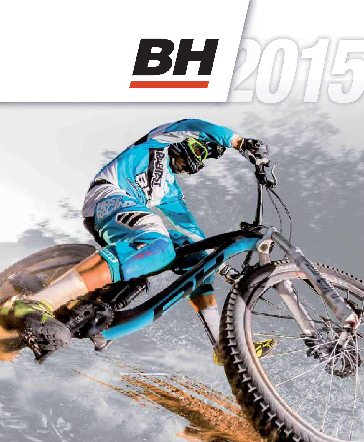 Bh Bikes 2015 Catalog En By Issuu Of A Bike Shock Absorbers 101 Tire Types Bicycle Geometry Fitting For