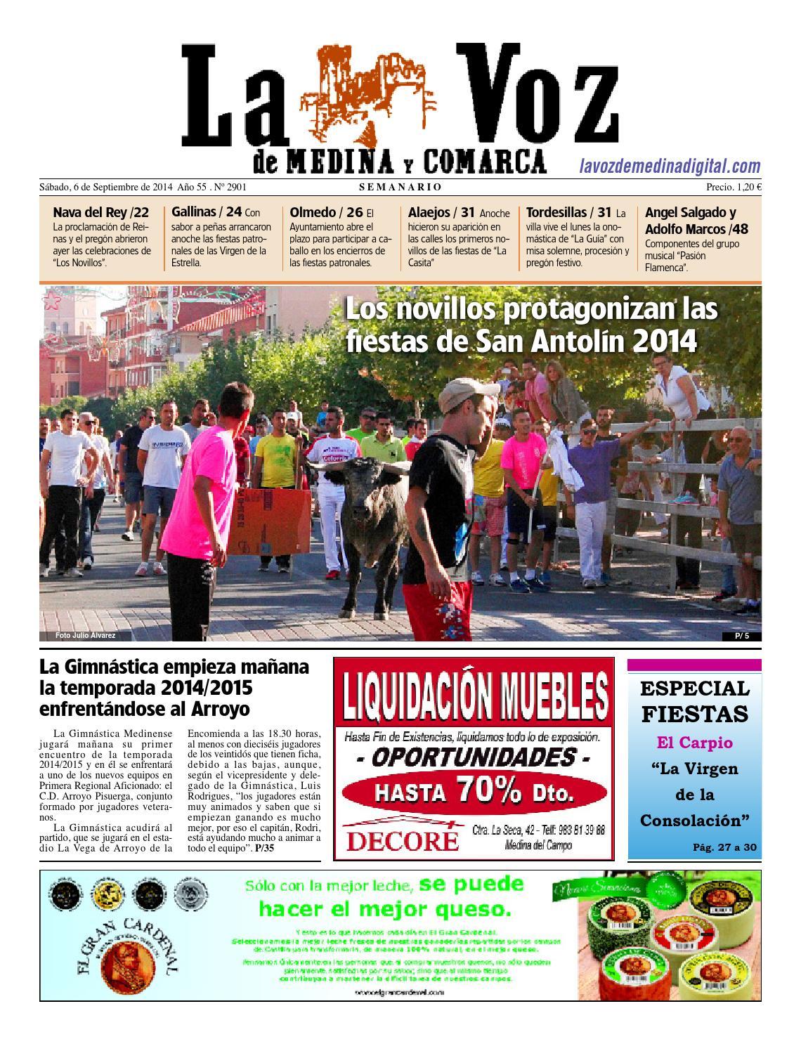 La Voz de Medina 140906 by La Voz de Medina - issuu