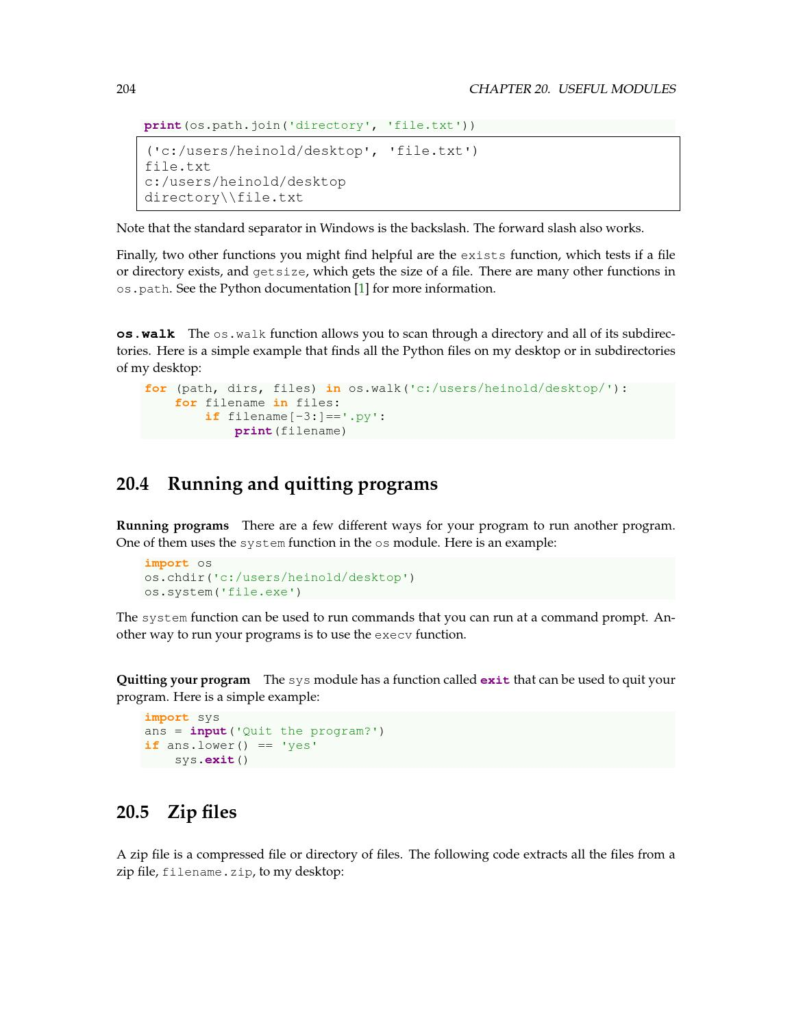 A practical introduction to python programming heinold by