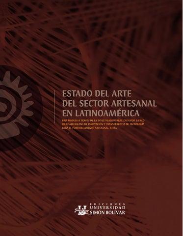 Estado del arte del sector artesanal en Latinoamérica   una mirada a través  de la investigación realizada por la Red Iberoamericana de Innovación y ... d0c42bf4ebe
