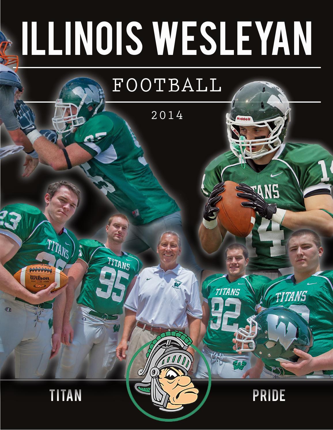 2014 Illinois Wesleyan Football Brochure by Illinois ...