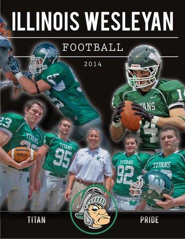 2014 Illinois Wesleyan Football Brochure by Illinois