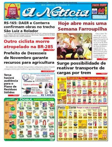 d2f5c82338564 Edição de 13 e 14 de setembro de 2014 by Jornal A Notícia - issuu
